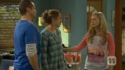 Toadie Rebecchi, Sonya Rebecchi, Georgia Brooks in Neighbours Episode 6711