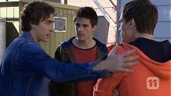 Mason Turner, Chris Pappas, Josh Willis in Neighbours Episode 6712
