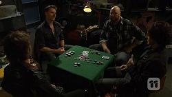 Lucas Fitzgerald, Trev Barnett, Robbo Slade in Neighbours Episode 6712