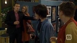 Toadie Rebecchi, Sonya Rebecchi, Bailey Turner, Callum Rebecchi in Neighbours Episode 6712