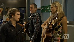 Kyle Canning, Karl Kennedy, Georgia Brooks in Neighbours Episode 6712