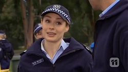 Snr. Const. Kelly Merolli in Neighbours Episode 6713