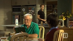 Lou Carpenter, Mason Turner, Bailey Turner in Neighbours Episode 6715