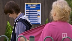 Bailey Turner, Sheila Canning in Neighbours Episode 6717