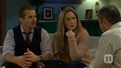 Toadie Rebecchi, Sonya Mitchell, Karl Kennedy in Neighbours Episode 6718