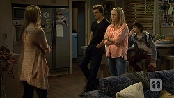 Sonya Mitchell, Mason Turner, Lauren Turner, Bailey Turner in Neighbours Episode 6718