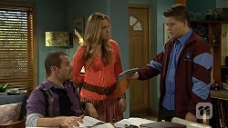 Toadie Rebecchi, Sonya Mitchell, Callum Jones in Neighbours Episode 6718