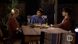 Amber Turner, Hudson Walsh, Chris Pappas in Neighbours Episode 6720