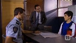 Matt Turner, Det. David Oakley, Hudson Walsh in Neighbours Episode 6721