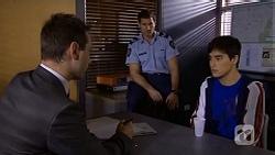 Det. David Oakley, Matt Turner, Hudson Walsh in Neighbours Episode 6721