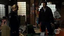 Snr. Const. Kelly Merolli, Matt Turner in Neighbours Episode 6721