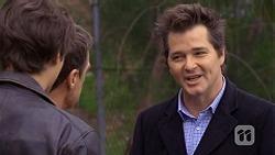 Mason Turner, Paul Robinson, Marty Kranic in Neighbours Episode 6723