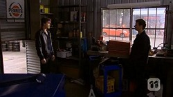 Mason Turner, Lucas Fitzgerald in Neighbours Episode 6723