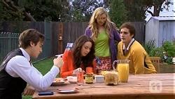 Mason Turner, Kate Ramsay, Georgia Brooks, Kyle Canning in Neighbours Episode 6724