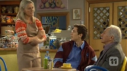 Lauren Turner, Josh Willis, Jack Lassiter in Neighbours Episode 6725