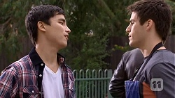 Hudson Walsh, Chris Pappas in Neighbours Episode 6725