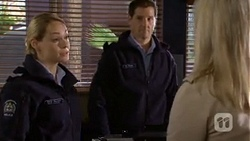 Snr. Const. Kelly Merolli, Matt Turner, Lauren Turner in Neighbours Episode 6726