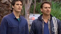 Chris Pappas, Lucas Fitzgerald in Neighbours Episode 6727