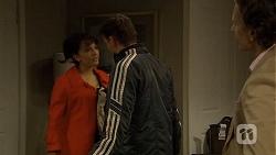 Vanessa Villante, Lucas Fitzgerald, Alec Pocoli in Neighbours Episode 6727