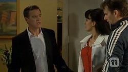 Paul Robinson, Vanessa Villante, Lucas Fitzgerald in Neighbours Episode 6728