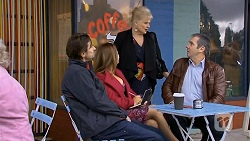 Brad Willis, Terese Willis, Sheila Canning, Karl Kennedy in Neighbours Episode 6728