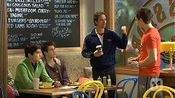 Hudson Walsh, Chris Pappas, Brad Willis, Josh Willis in Neighbours Episode 6730