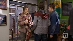 Josie Lamb, Bailey Turner, Callum Jones in Neighbours Episode 6731