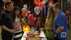 Lucas Fitzgerald, Vanessa Villante, Sonya Mitchell, Toadie Rebecchi in Neighbours Episode 6732