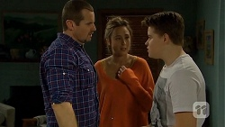 Toadie Rebecchi, Sonya Mitchell, Callum Jones in Neighbours Episode 6732
