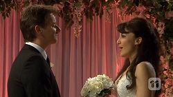 Lucas Fitzgerald, Vanessa Villante in Neighbours Episode 6732