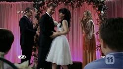 Toadie Rebecchi, Lucas Fitzgerald, Vanessa Villante, Sonya Mitchell in Neighbours Episode 6732