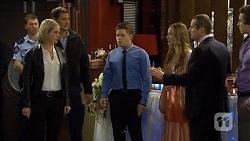 Ellen Crabb, Matt Turner, Callum Jones, Sonya Mitchell, Toadie Rebecchi, Mason Turner in Neighbours Episode 6732
