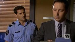 Matt Turner, Det. Sen. Const. David Oakley in Neighbours Episode 6733
