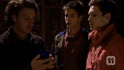 Robbo Slade, Chris Pappas, Josh Willis in Neighbours Episode 6733