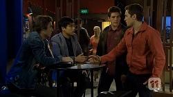 Mason Turner, Hudson Walsh, Chris Pappas, Josh Willis in Neighbours Episode 6733