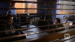 Det. Sen. Const. David Oakley, Matt Turner, Hudson Walsh, Chris Pappas in Neighbours Episode 6733