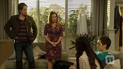 Brad Willis, Terese Willis, Imogen Willis, Josh Willis in Neighbours Episode 6734