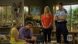 Amber Turner, Mason Turner, Lauren Turner, Matt Turner in Neighbours Episode 6734