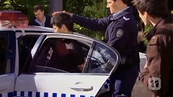 Hudson Walsh, Matt Turner, Chris Pappas in Neighbours Episode 6734