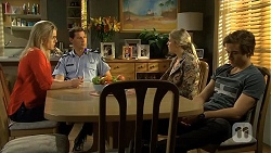 Lauren Turner, Matt Turner, Amber Turner, Mason Turner in Neighbours Episode 6734