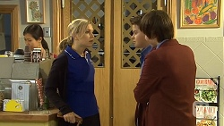 Georgia Brooks, Callum Jones, Bailey Turner in Neighbours Episode 6735