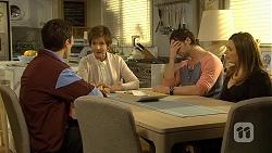 Josh Willis, Susan Kennedy, Brad Willis, Terese Willis in Neighbours Episode 6735