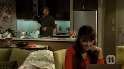 Lucas Fitzgerald, Vanessa Villante in Neighbours Episode 6736