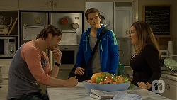 Brad Willis, Josh Willis, Terese Willis in Neighbours Episode 6736