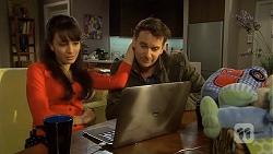 Vanessa Villante, Lucas Fitzgerald in Neighbours Episode 6737