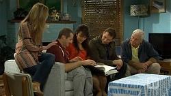 Sonya Mitchell, Toadie Rebecchi, Vanessa Villante, Lucas Fitzgerald, Lou Carpenter in Neighbours Episode 6737