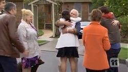 Karl Kennedy, Sheila Canning, Vanessa Villante, Lou Carpenter, Susan Kennedy, Lucas Fitzgerald in Neighbours Episode 6737