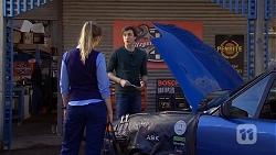 Danni Ferguson, Mason Turner  in Neighbours Episode 6738