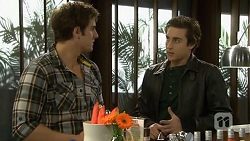 Kyle Canning, Mason Turner  in Neighbours Episode 6738