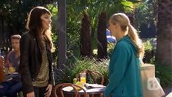 Amali Ward, Georgia Brooks in Neighbours Episode 6739